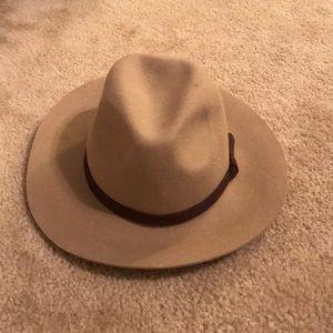 Tan Womens Fedora Hat